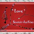 Sautoir 'Love' De Babs