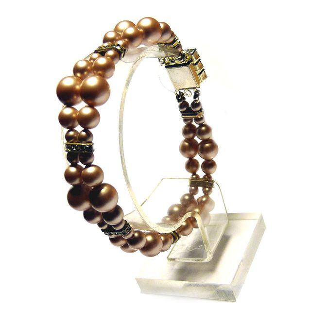 Bracelet almond pearl