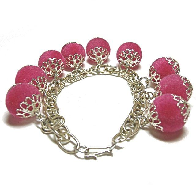 Bracelet pompons1
