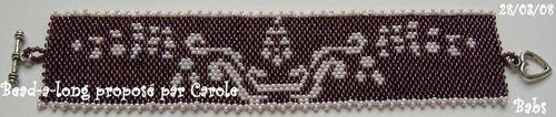 Bracelet Henné grappe par Babs